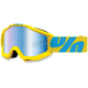 Yellow/Blue Accuri Fiji Goggle w/Mirror Blue Lens - 50210-105-02
