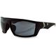 Matte Black/Smoke Whiskey Ballistics Sunglasses - EWH1002
