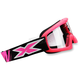 Youth Liquid Fluorescent Pink X-Grom Goggles - 067-30175