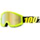 Neon Yellow Strata Goggle w/Gold Lens - 50410-004-02