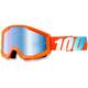 Orange Strata Goggle w/Blue Lens - 50410-006-02