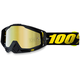 Raceday Black Racecraft Goggle w/Gold Lens - 50110-153-02