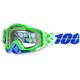 Alhemy Green Racecraft Goggle w/Clear Lens - 50100-151-02
