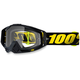 Raceday Black Racecraft Goggle w/Clear Lens - 50100-153-02
