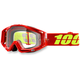 Corvette Red Racecraft Goggle w/Clear Lens - 50100-156-02