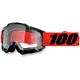 Inferno Black Accuri Goggle w/Clear Lens - 50200-162-02
