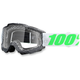 Newsworthy Gray Accuri Goggle w/Clear Lens - 50200-163-02