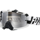 Black/White/Chrome Spark Divizion Air Space Goggles - 15355-902-NS