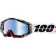 Zoolander Racecraft Goggles w/Mirror Blue Lens - 50110-177-02