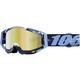 Tie Dye Racecraft Goggles w/Mirror Gold Lens - 50110-179-02