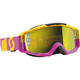 Oxide Pink/Yellow Tyrant Goggles w/ Yellow Chrome Lens - 240585-4974289