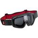 Black/Red Overland Goggles - OG-BRD-FL-SM
