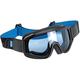 Black/Blue Overland Goggle - OG-BBL-FL-BU