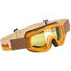 Orange/Brown Overland Goggle - OG-ORG-FL-YL