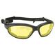 Black Freedom Sunglasses w/Yellow Lens - 43112