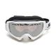 White Hustle Snocross Goggle w/Chrome Lens - 217784-3711015