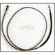 Black Pearl Designer Series Custom 76 in. Hydraulic Clutch Line w/180 Degree Top Angle - 41476