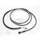 Black Pearl Designer Series Braided Hydraulic Clutch Line - 41488