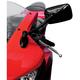 Black Long-Stem Mini Fairing Mount Mirrors - 932063BP