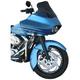 Hugger Series Jai Alai Front Fender - 18 in. Wheel - 1401-0385