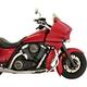 Jai Alai Tire Hugger Series Front Fender Kit for 16-18 Inch Wheels - 1402-0332