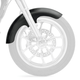 Thickster Tire Hugger Series Front Fender Kit for 21 Inch Wheels - 1401-0440