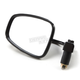 Black Left/Right Semi Rectangular Bar  End Mirror - 0640-0929