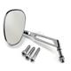 Chrome  Mini-Oval Billet Mirrors W/7
