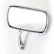 Chrome Yamaha Reverse Mini Rectangular Mirror - 0640-0958