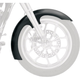 19 in. Slicer Tire Hugger Series Front Fender w/Raw Mounting Blocks - 1401-0538