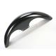 19 in. Klub Tire Hugger Series Front Fender w/Chrome Mounting Blocks - 1401-0546
