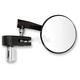 Black 3 in. Right Hand Bar End Mirror - 20-34041