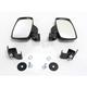 UTV Side Mirrors w/New Style Clamp - 0640-1088