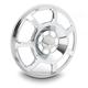 Chrome Beveled Forged Billet Speaker Grill - 03-904