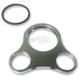 Single Gauge Bracket for 1-1/4 in. T-Handlebar - CPP/9084M