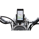 Smartphone/GPS Holder w/Chrome 7/8 - 1 in. Bar Mount - 50212