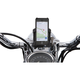 Smartphone/GPS Holder w/Black 7/8 - 1 in. Bar Mount - 50313