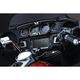 Black/Aluminum Tuxedo Upper/Lower Gauge Accents - 6944
