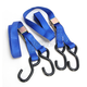 Blue Heavy Duty 7 ft. Cam Buckle Tie Downs - 3920-0423