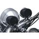 Satin Black Road Thunder Speaker Pods by MTX - 2711