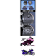 Rokker XXR 6.71 in. Fairing  Speaker Kit w/High-Output Grill Mounted Tweeters - HRRK-6712TW-XXR