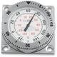 Chrome Snap Back Square Motor Sport Mount Kit - MSK-100