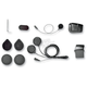 Wired Microphone Helmet Clamp Kit for SMH-5 Intercom - SMH5A0302