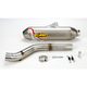 Factory 4.1 Natural Titanium Slip-On w/Stainless Midpipe - 044203