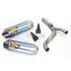 Factory 4.1 RCT Blue Anodized Titanium Slip-On Muffler w/Carbon Fiber End Cap - 041498