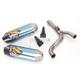 Factory 4.1 RCT Blue Anodized Titanium Slip-On Muffler w/Carbon Fiber End Cap - 041498