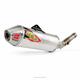 Stainless T-6 Slip-On w/Removable Spark Arrestor - 0121445A