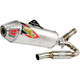 T-6 Stainless Steel Exhaust System w/Removable Spark Arrestor - 0141445G