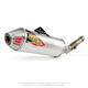 Stainless T-6 Slip-On w/Removable Spark Arrestor - 0141445A