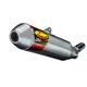 Q4 Hex Slip-On Muffler w/Stainless End Cap - 045556